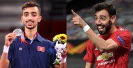 Raih Medali Perak di Olimpiade, Atlet ini Dikira Netizen Bruno Fernandes