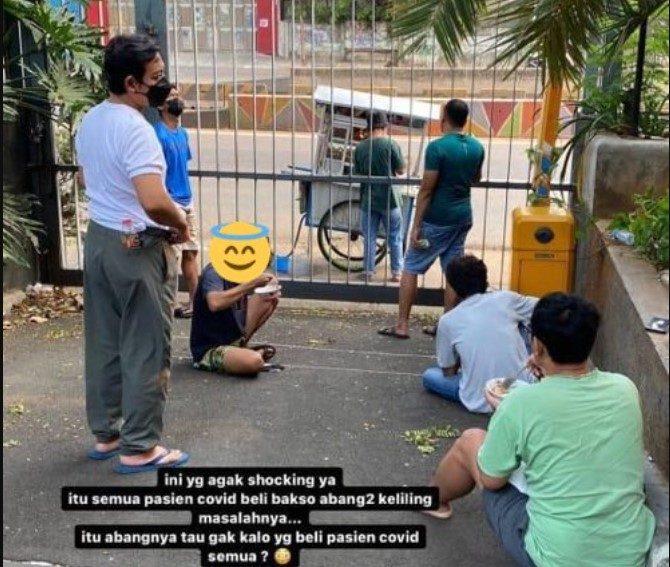 Pedagang Bakso Viral yang Layani Pasien Isoman Covid-19 Akan Di Swab Test