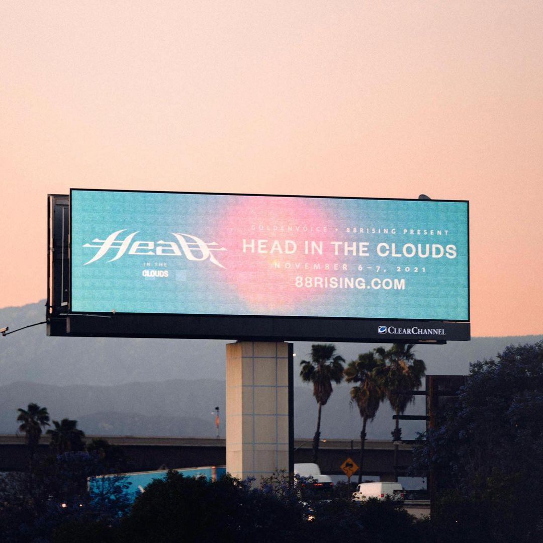Setelah sempat tertunda karena pandemi, 88rising umumkan gelaran Head in the Clouds 2021.