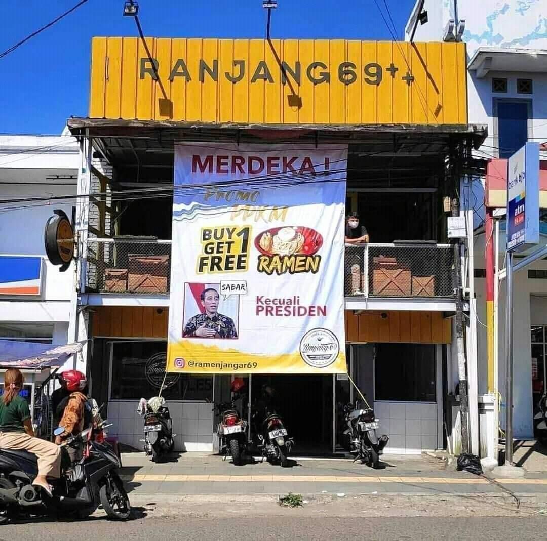 Pedagang Garut Minta Maaf Gara-Gara Promo 'Kecuali Presiden'