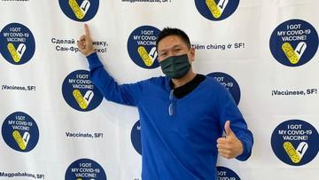 Chandra Firmanto, vaksin di Amerika Serikat