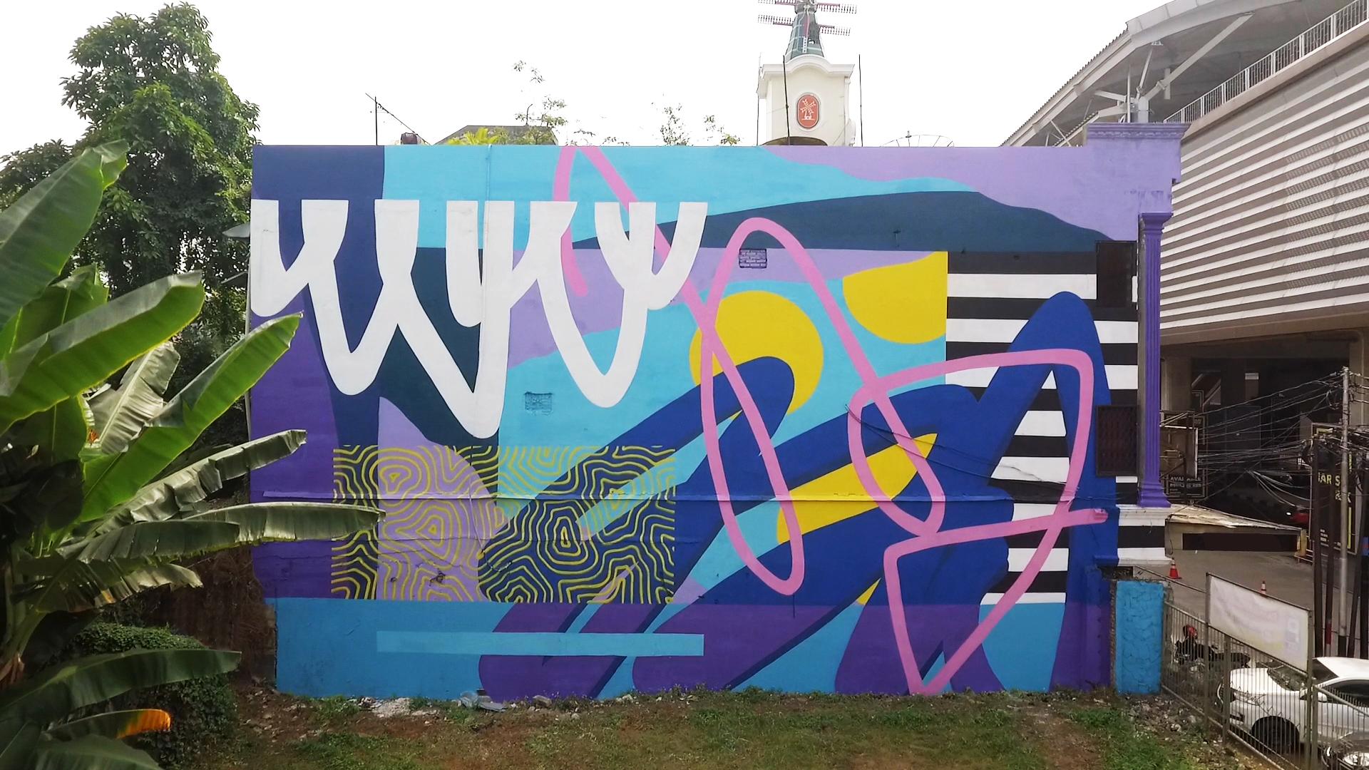 Stereoflow dan Mahavisual Persembahkan Mural untuk Jakarta, Hadirkan Semangat Kebebasan