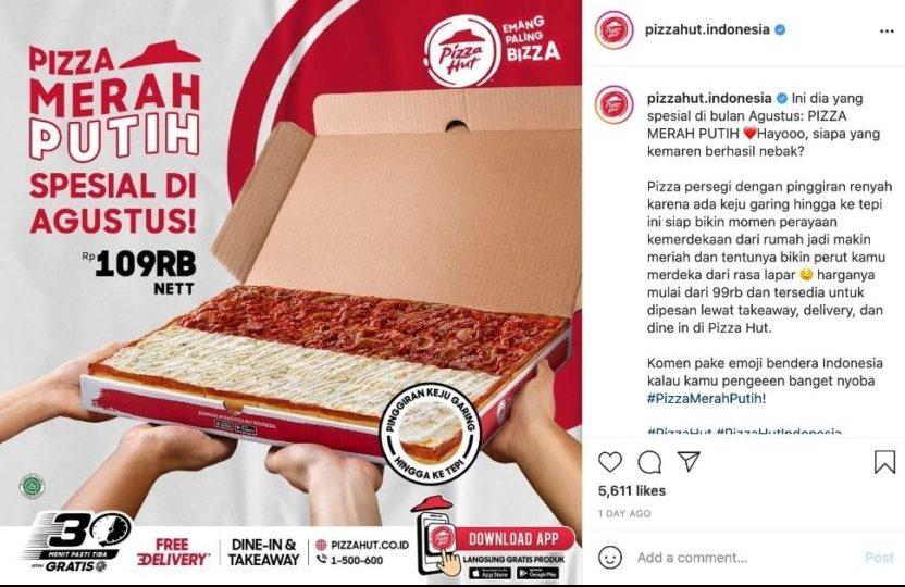 Pizza Hut Indonesia Perkenalkan Pizza Merah Putih untuk Rayakan Hari Kemerdekaan