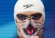 Gunakan Masker Bermotif Kucing Saat Penyerahan Medali, Perenang ROC Ditolak Naik Podium!