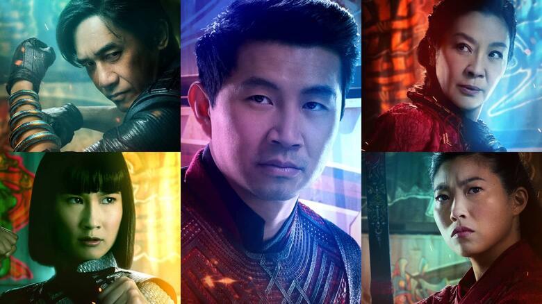 """Marvel """"Shang-Chi"""" Rilis Poster Karakter-Karakternya, Keren Banget!"""