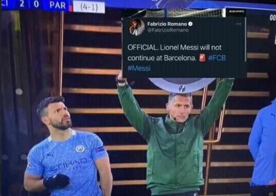 Lionel Messi Tinggalkan Barcelona, Sergio Aguero Nyesel Gabung dan Minta Pindah! Emang Bisa?