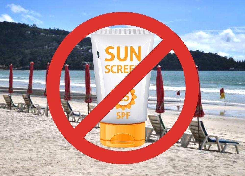 Wisata ke Thailand Jangan Pakai Sunscreen Ini di Pantai, Denda Rp40 Juta?