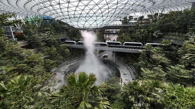 Changi Airport Singapura Bukan Lagi Bandara Terbaik Dunia, Indonesia Nomor Berapa?