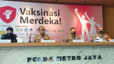 Belum Vaksin, Rumah Warga DKI Jakarta Akan Ditempel Stiker