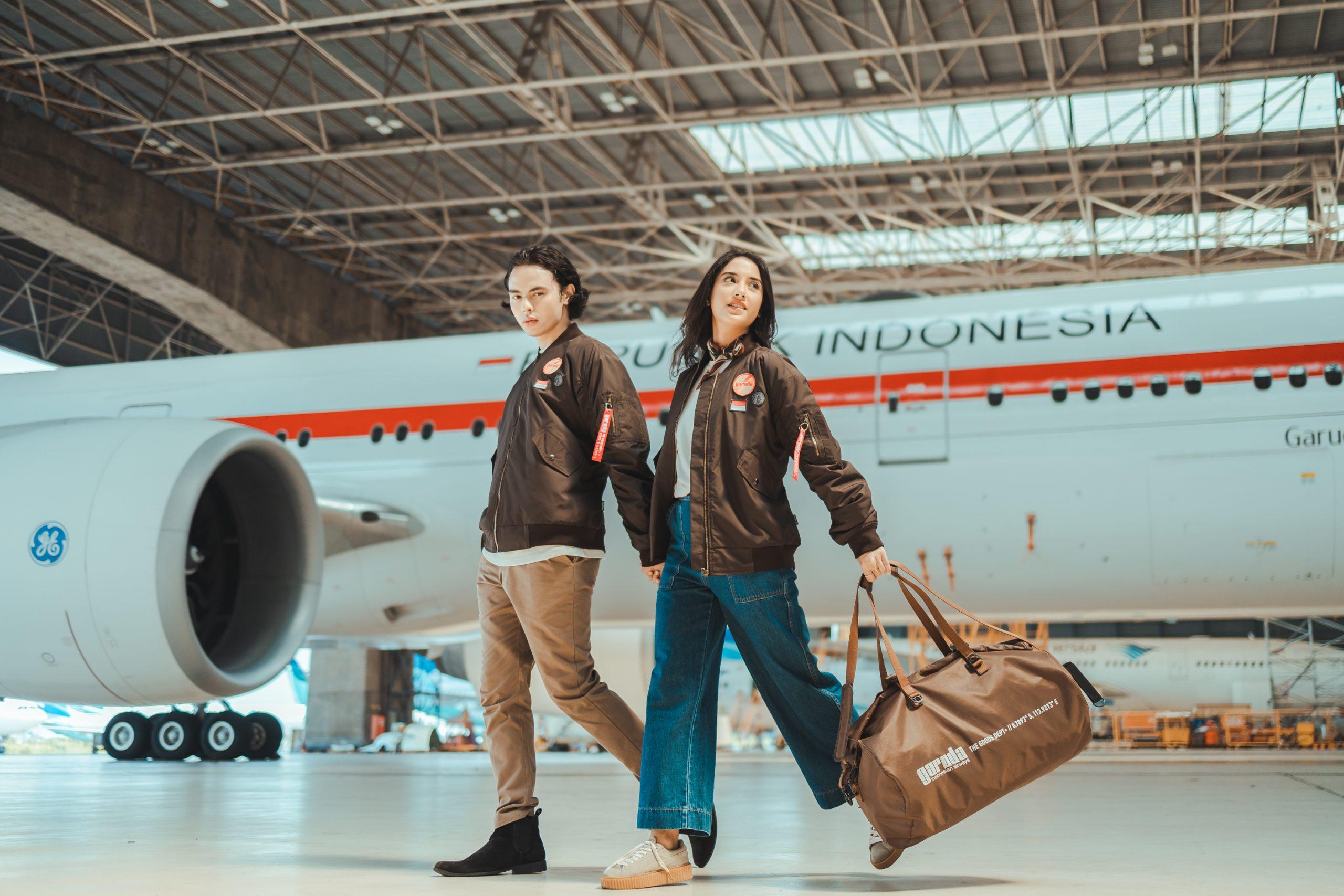 The Goods Dept dan Garuda Indonesia Berkolaborasi, Luncurkan Merchandise Bertema 76 Tahun Kemerdekaan Indonesia