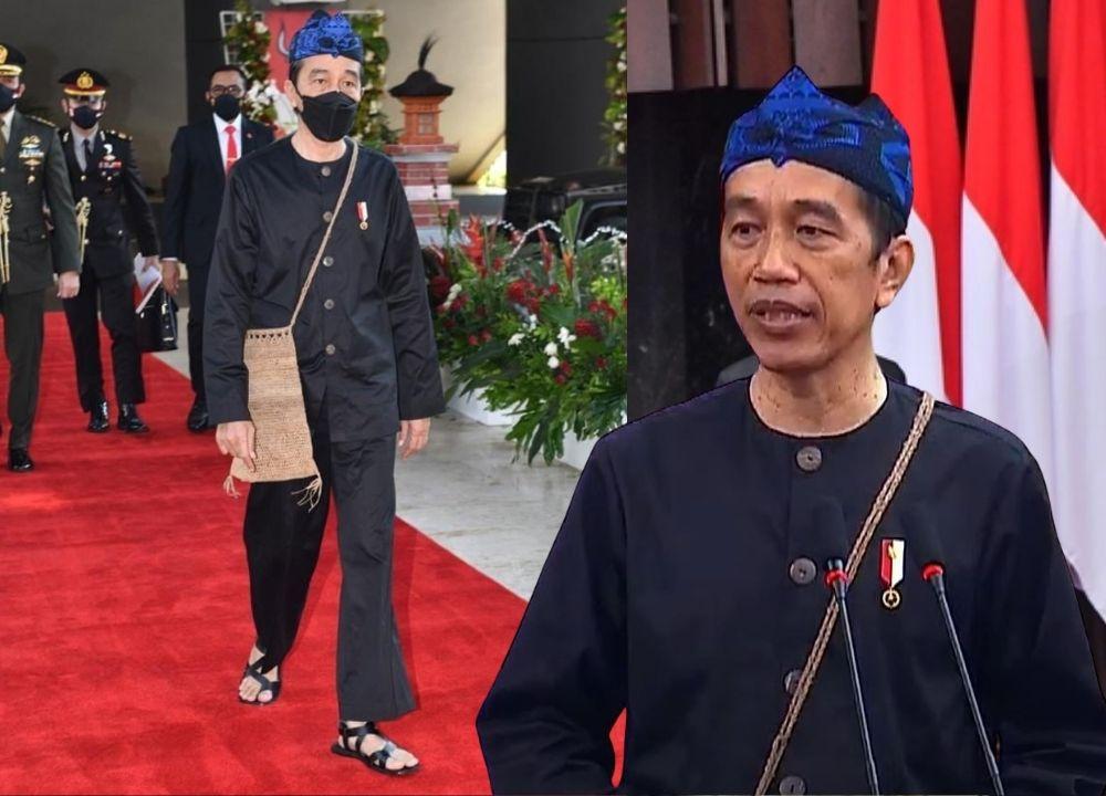Baju Adat Badui Jadi OOTD Jokowi di Sidang Tahunan, Ini Maknanya!