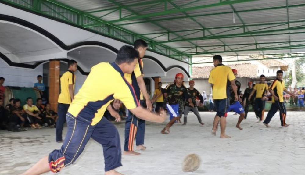 Sepakbola Durian perayaan 17 Agustus