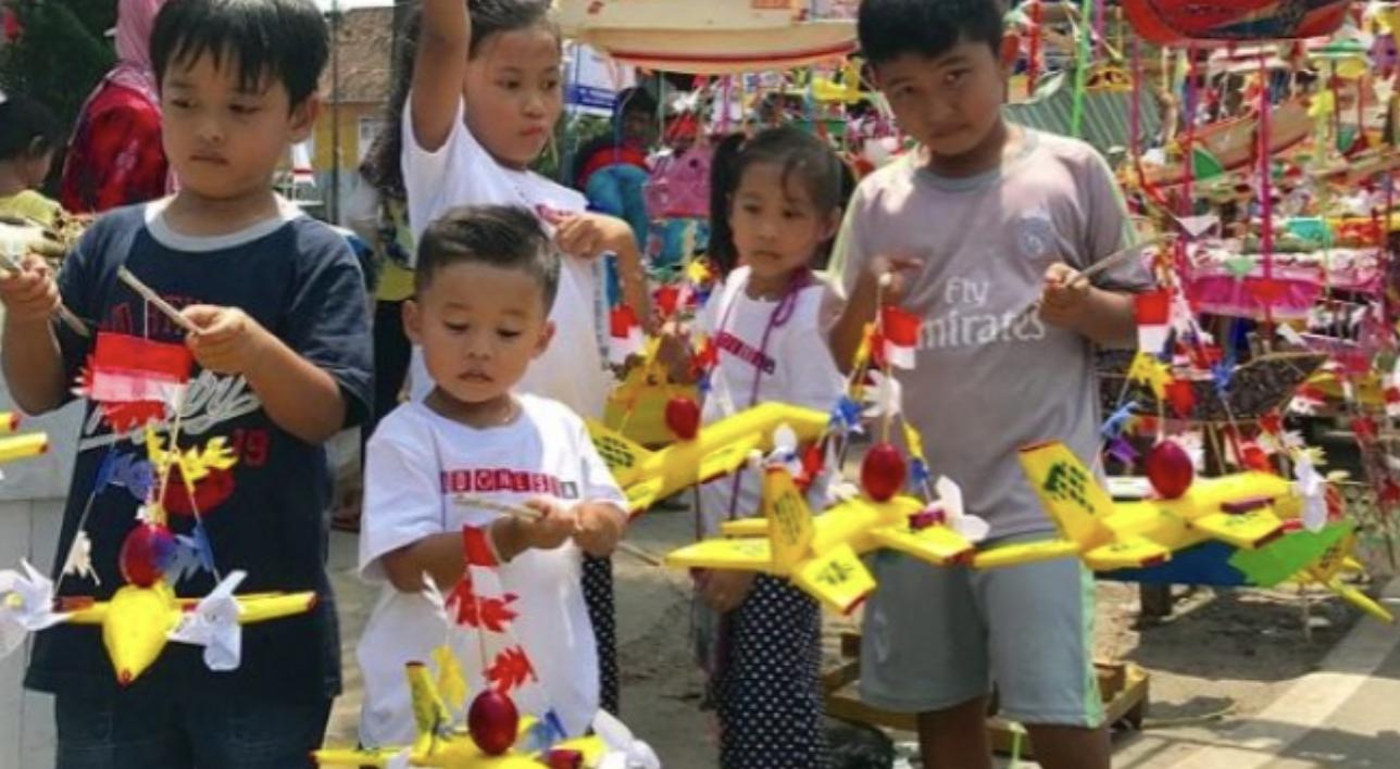 Telok Abang, tradisi 17 Agustus Palembang