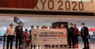 Kontingen Paralimpiade Indonesia Tiba di Tokyo, Targetkan 5 Medali!