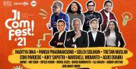 Pandji Pragiwaksono dan Raditya Dika Hadir di Jicomfest, Festival Komedi Terbesar Indonesia