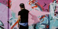 Lomba Mural Digelar, Gambar Tercepat Dihapus Jadi Pemenang