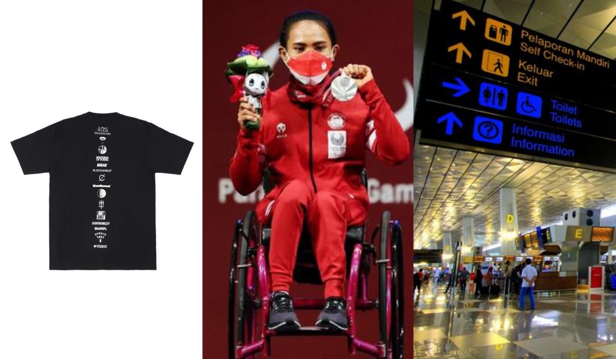 Indonesia Raih Medali Pertama di Paralimpiade Tokyo, Komunitas Streetwear Bandung Adakan Gerakan Solidaritas Pandemi, Berikut Kabar Baik Minggu Ini!