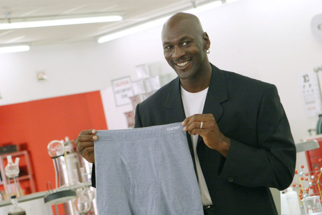 Kancut Bekas Michael Jordan Dilelang