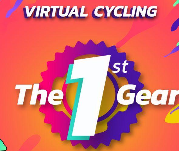 Virtual Cycling The 1st Gear, Konten Bersepeda Aman dan Seru di Pedal Hub Nation 2021