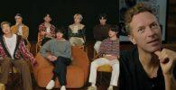 Chris Martin Banjir Pujian Wawancarai BTS: Maaf Aku Bukan Pewawancara Profesional