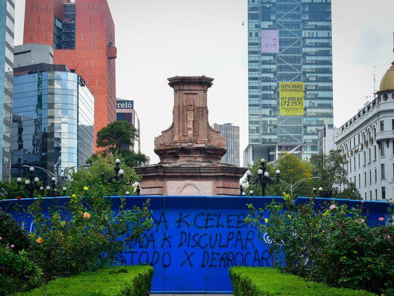 Mexico City 'Depak' Patung Columbus, Ganti dengan Patung Perempuan Pribumi