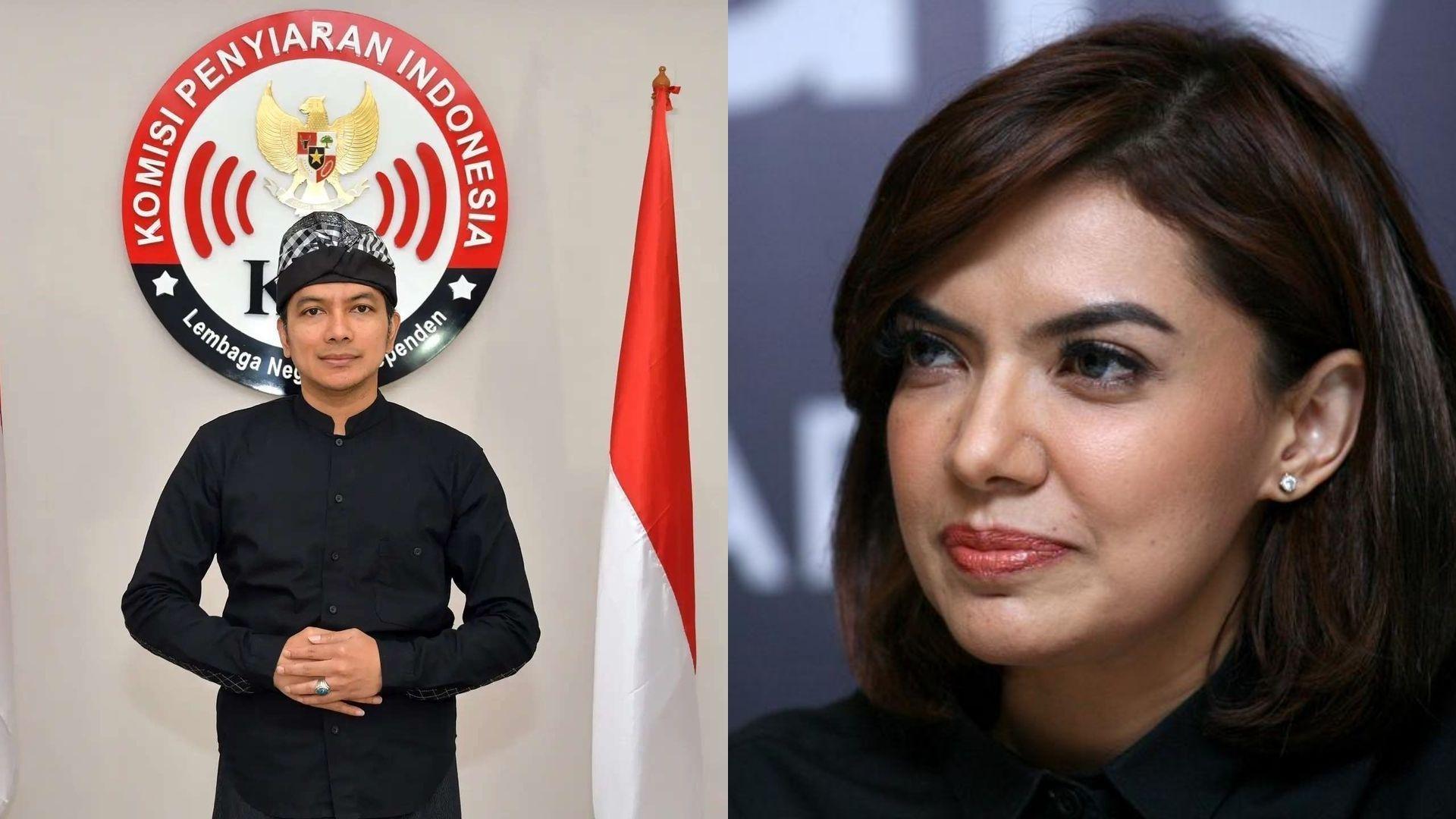 Ketua KPI dan Najwa Shihab