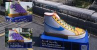 Instalasi Sepatu Compass Sasaran Vandalisme, 'Kebebasan Berekspresi'?