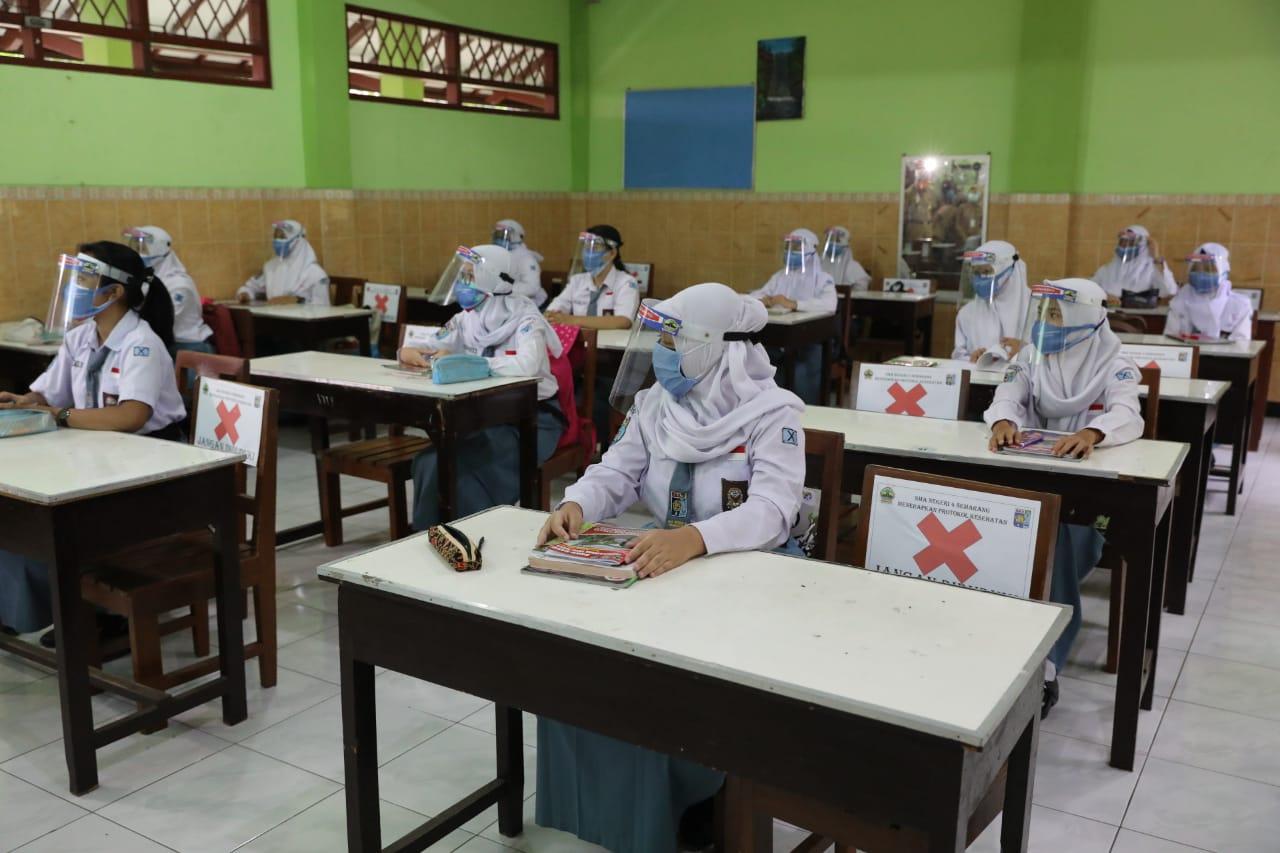 Sekolah Tatap Muka di Indonesia Diminta WHO dan UNICEF Segera Bergulir