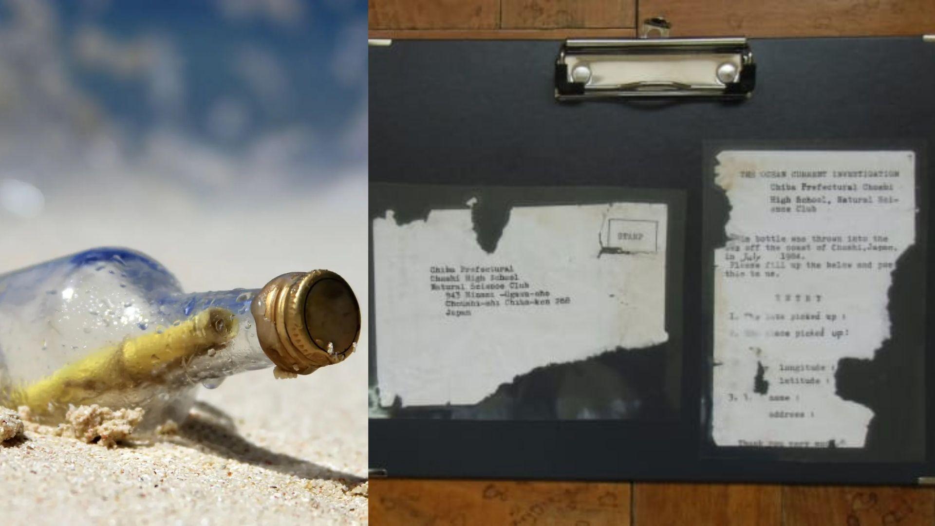 Pesan dalam Botol 37 Tahun Mengarungi Laut, dari Jepang sampai 'Terdampar' di Pantai Amerika