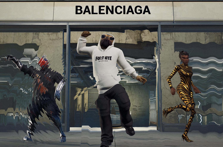 Balenciaga dan Fortnite, Rilis Koleksi Fashion di Dunia Virtual dan Nyata