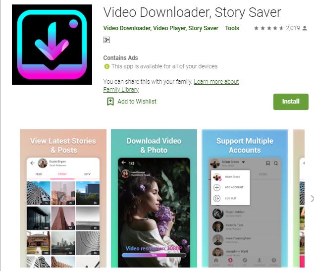insta story downloader