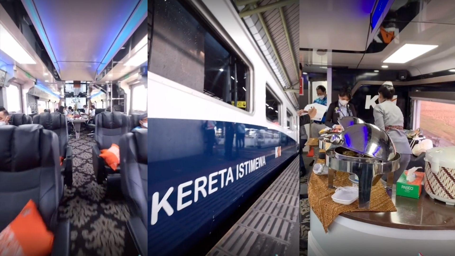'Kereta Sultan' Tarif Rp50 Juta Keliling Jawa, Begini Penampakannya!
