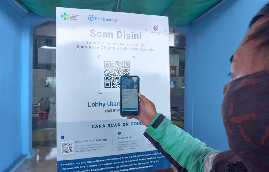 Aplikasi PeduliLindungi Jadi Alat Pembayaran Digital?