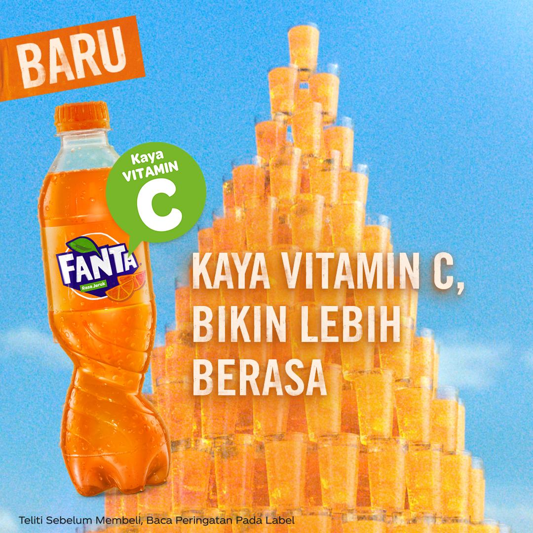 """Minuman Bersoda FANTA Gaungkan Kampanye Baru Bertajuk """"Colorful People"""""""