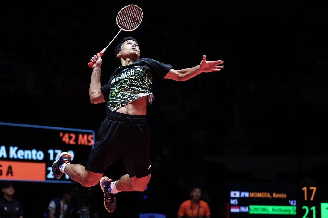 Sudirman Cup 2021: The Minions Sumbang Angka Pertama Buat Indonesia, Anthony Sinisuka Ginting Kalah dari Denmark