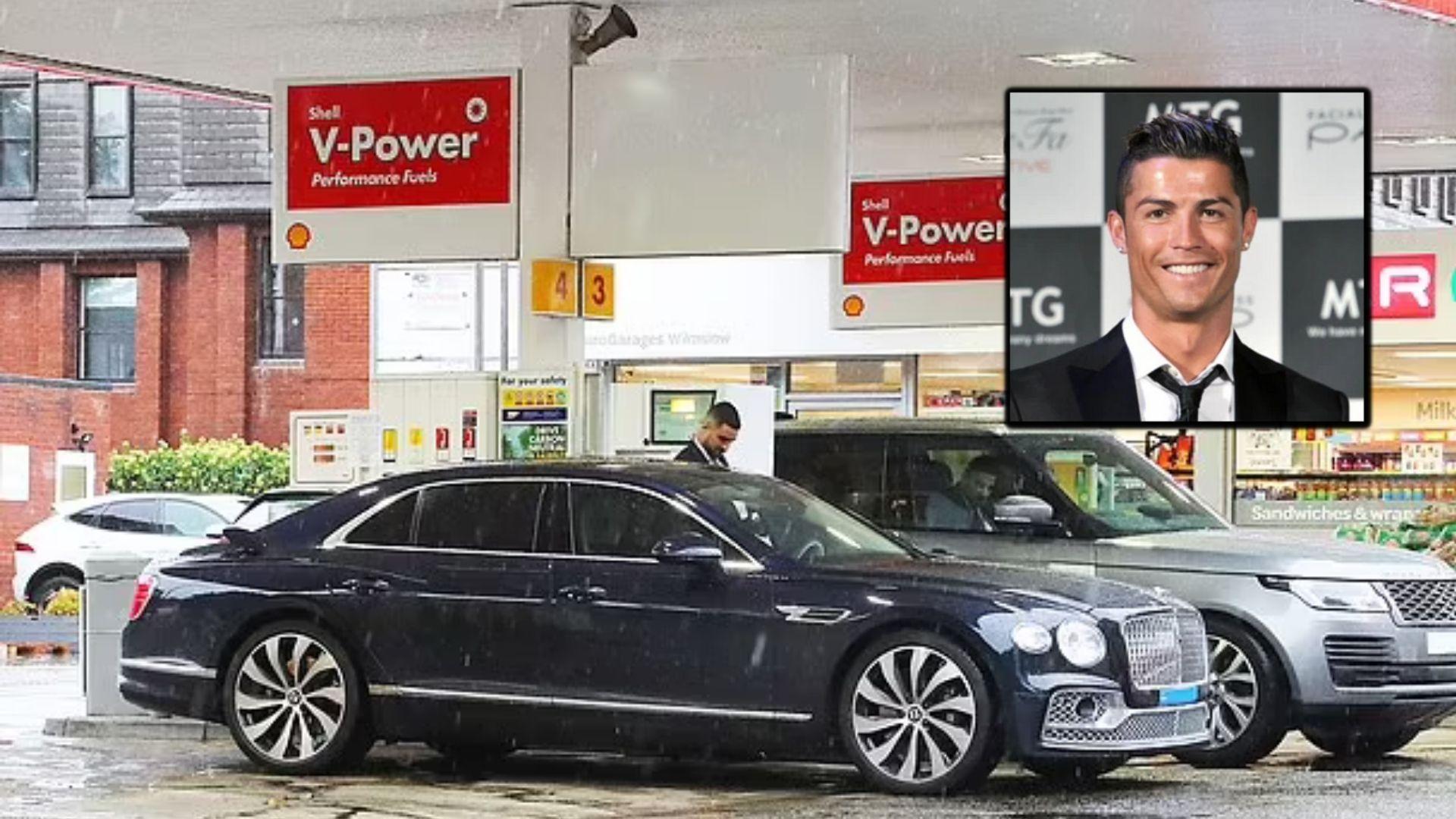 Krisis BBM di Inggris, Mobil Mewah Christiano Ronaldo Antre 7 Jam Buat Bensin