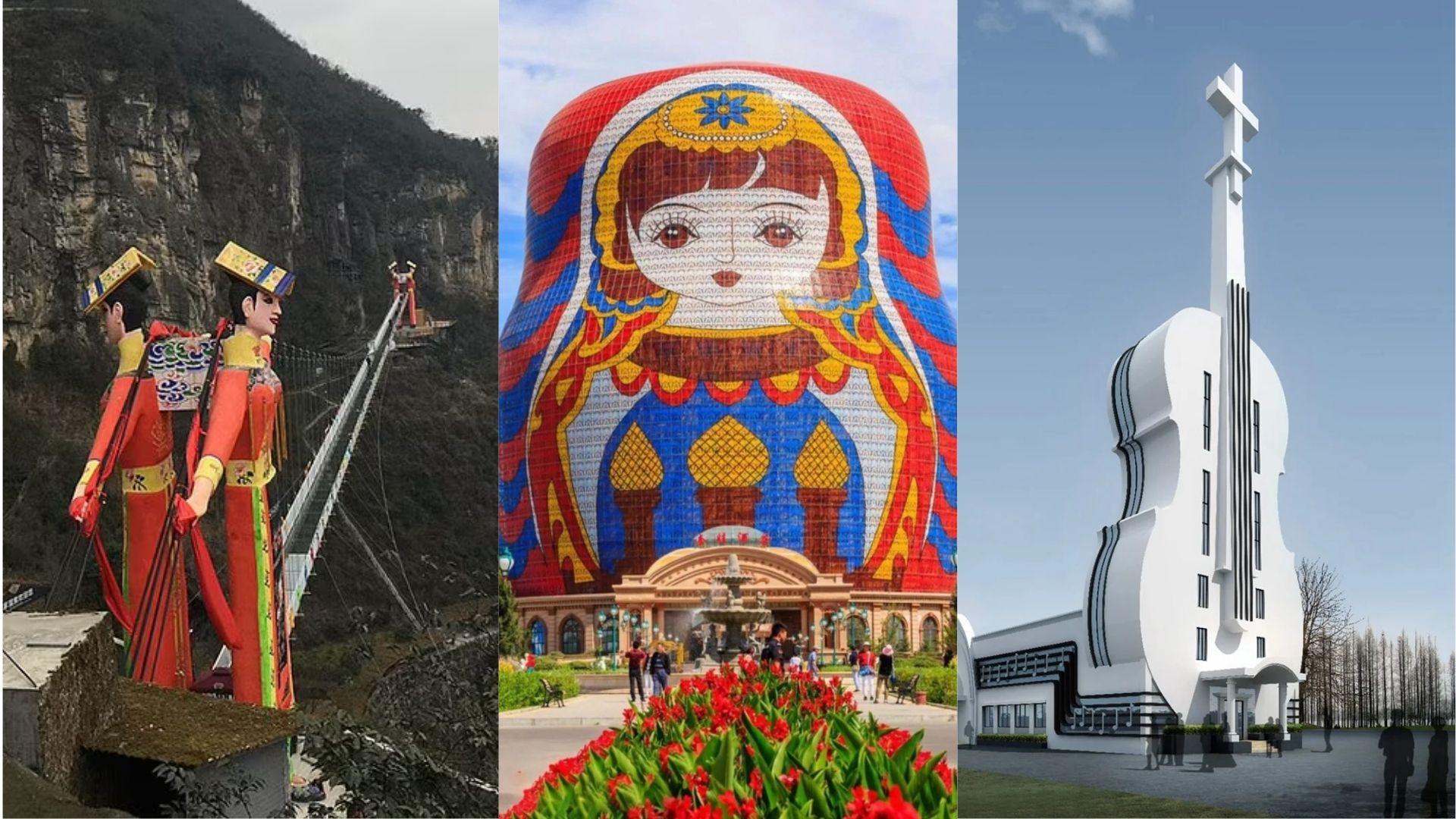 Bukan Paling Indah, China Gelar Kompetisi Bangunan Terjelek dan Ini Nominasinya!