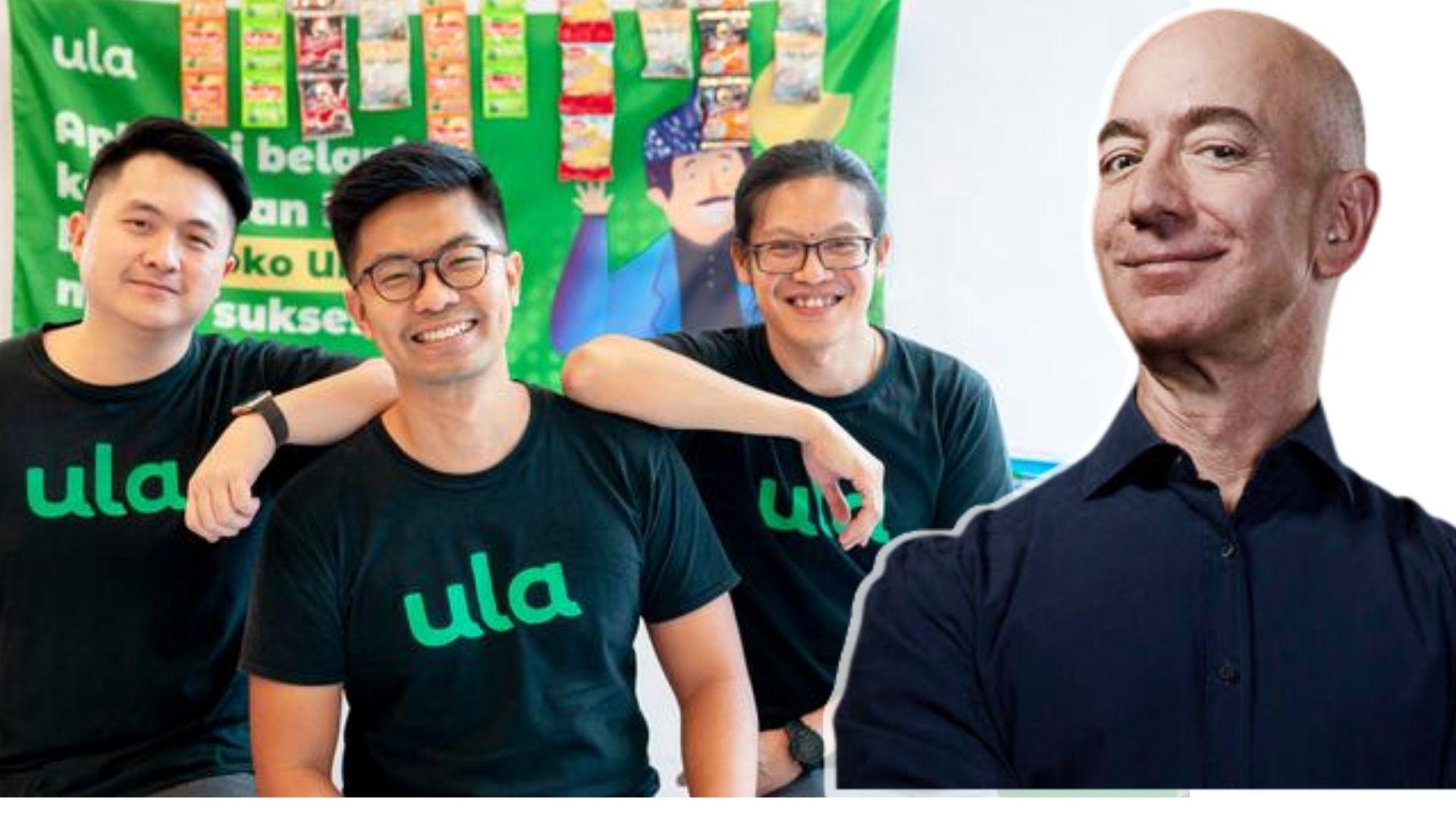Jeff Bezos Suntikkan Dana ke Startup E-Commerce Indonesia 'Ula'