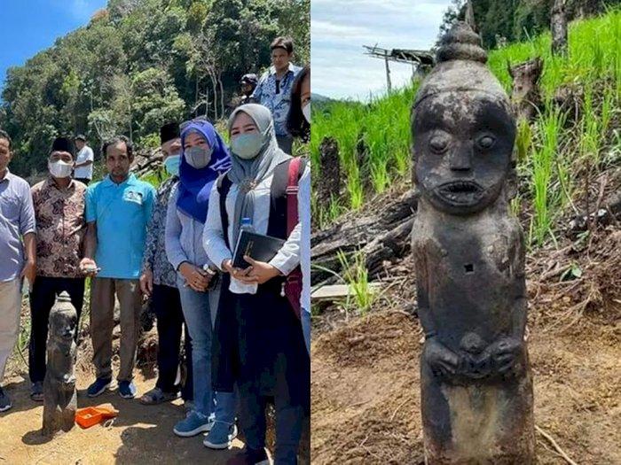 Petani Kesurupan Bak Harimau Usai Temukan Patung Kuno