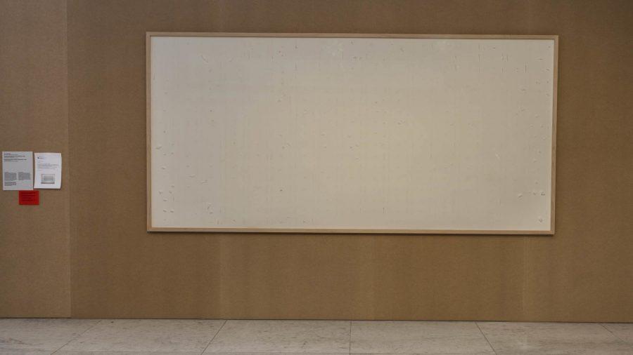 Lukisan kosong jadi karya terbaru yang disetor oleh seniman Jens Haaning kepada sebuah museum seni modern di kota Aalborg, Denmak.