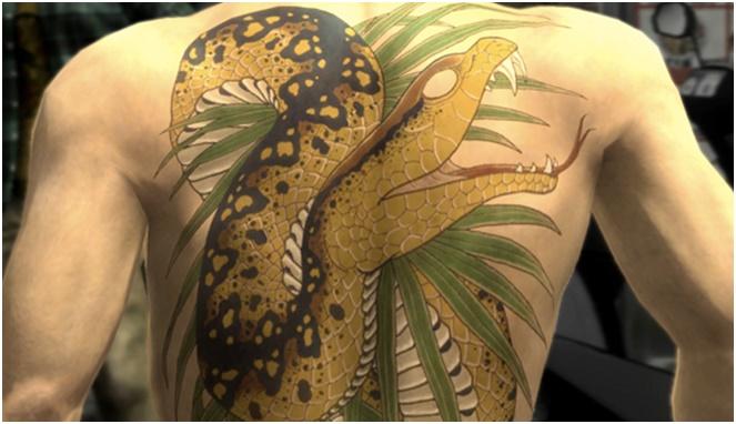 tato yakuza ular