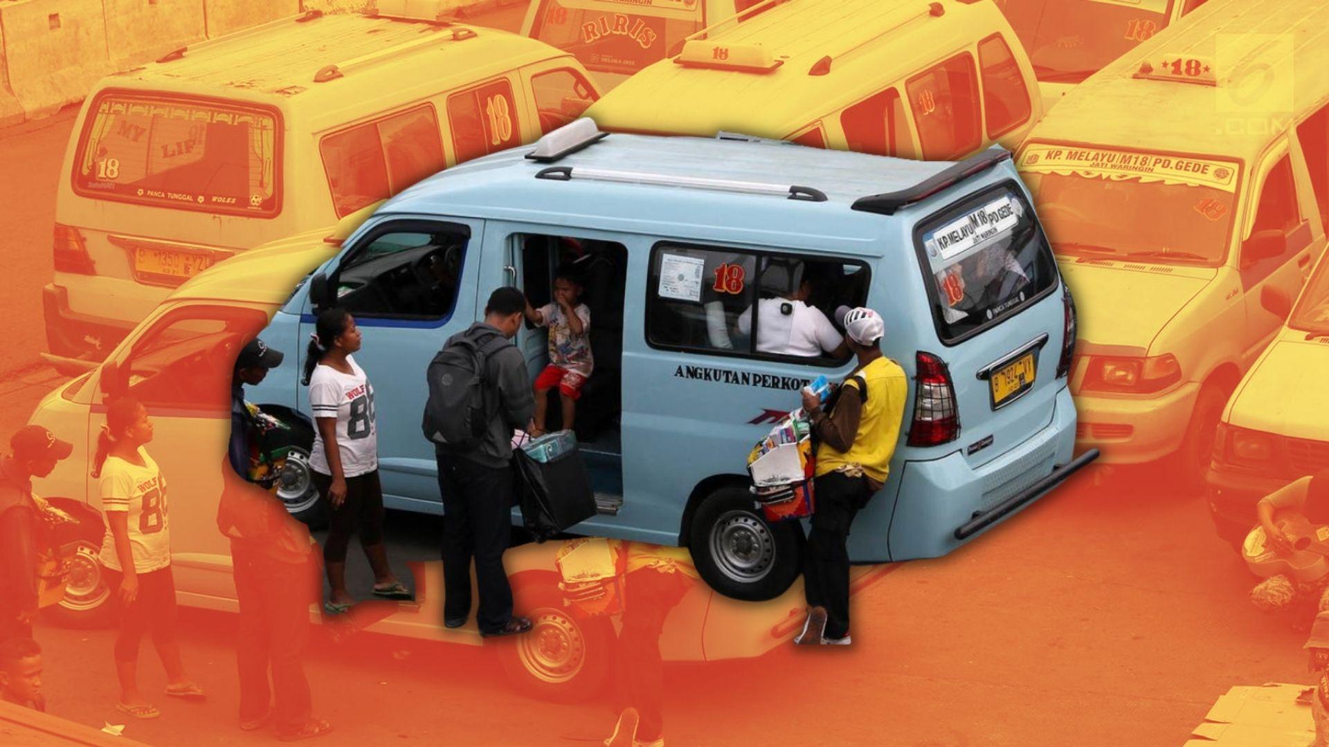 Angkot di Jakarta Udah Nggak Bikin Macet Gara-Gara Ngetem, Begini Kata Anies Baswedan