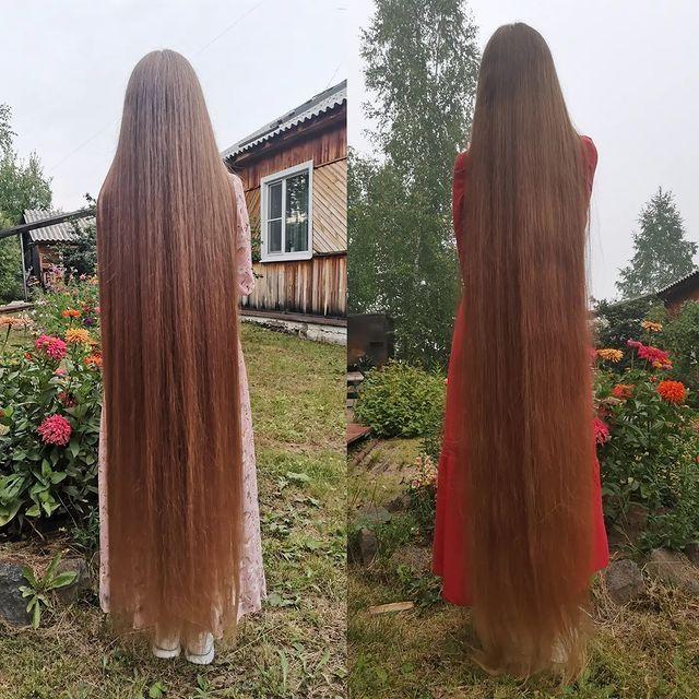 Tidak Potong Rambut 23 Tahun, Wanita Ini Jadi 'Rapunzel' Dunia Nyata
