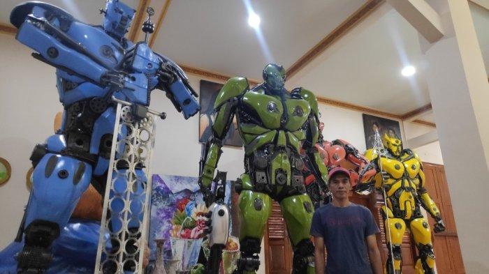 Replika Robot Transformers Produksi Bantul Laris Manis Di Luar Negeri!