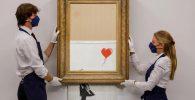 Lukisan Hancur Banksy Ini Terjual Rp357 Miliar, Ini Alasannya!