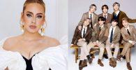 'Easy on Me' dari Adele Geser BTS, Pecahkan Rekor Streaming di Spotify!